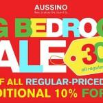 aussino sale, aussino big bedroom sale july 2013