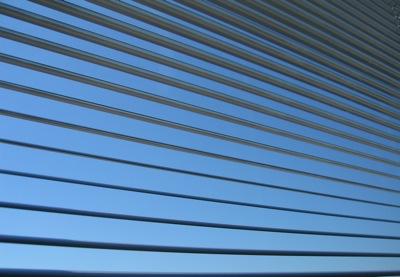 blue venetian blinds, venetian blinds