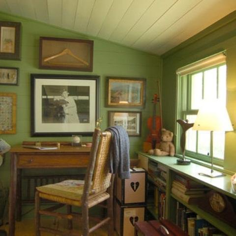 green home office modern renosawcozyhomeoffice42 renosaw