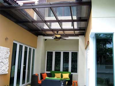 glass skylight, glass skylight outdoor