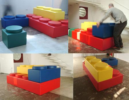 Lego Shape Sofa
