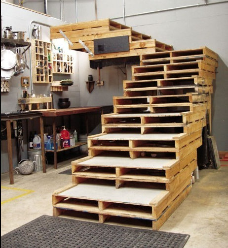 Creative Home Funitures Made from Pallets