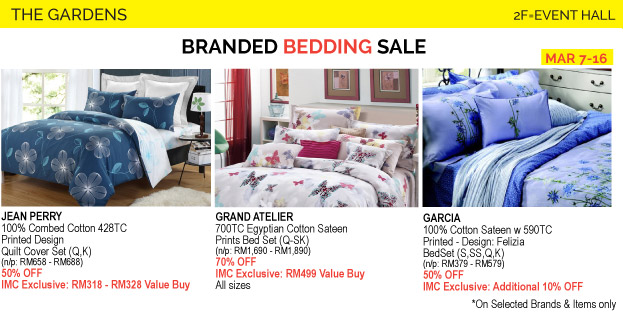 Renosaw iSetan Branded Bedding Sales