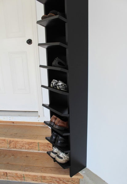 Limitation on the unit of shoe you can place, but with regular shoe place inside should be good.