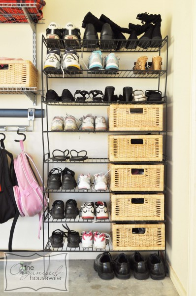 Well organise shoe rack