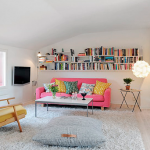 Colourful Apartment in France