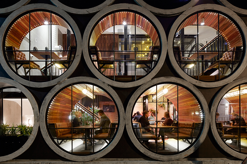 Prahran Hotel Renovates with Concrete Pipes