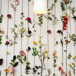 Beautiful Wall Deco with Flower