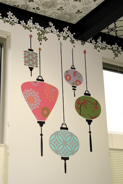 Chic Lantern Wall Deco