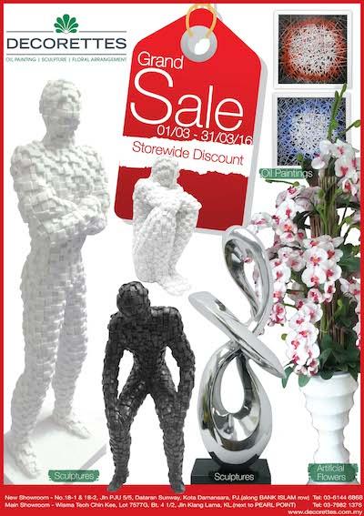 March Sale 2016